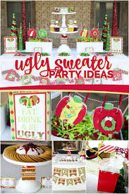 Christmas Sweater Party Ideas - ugly sweater party spaceships and laser beams