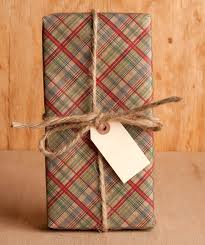 chic wrapping paper country plaid cranberry evergreen plaid wraps and holidays