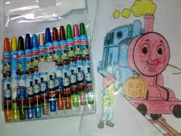 thomas friends crayon coloring books