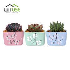aliexpress com buy wituse flower pot ceramic square small indoor