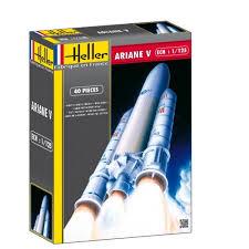 Maquette fusée Ariane 5  Jeux et jouets Heller  Avenue des Jeux