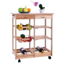 meuble etagere cuisine chariot de cuisine en bois étagère cabinetmeuble de rangement