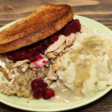 thanksgiving leftovers sandwich healthy vegan vegetarian