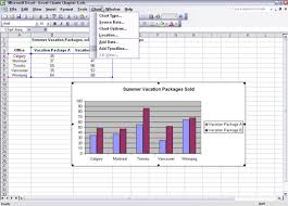 using columns and bars to compare items in excel charts dummies