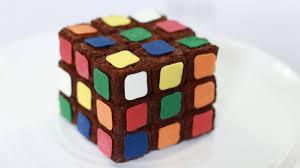 rubiks cube brownies nerdy nummies youtube