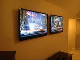 gameday will never be the same with these two tvs mounted in the