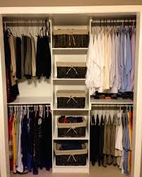 Closet Systems Closet Simple And Economical Solution To Organizing Your Closet