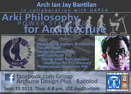 architecture philosophy power steering for architecture archian