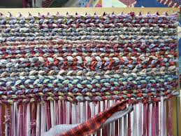 Tied Rag Rug Make It Easier To Create Rag Rugs With These Plans For A Rag Rug