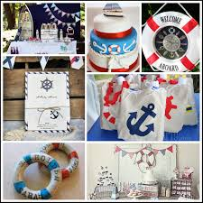 nautical baby shower decorations party ideas omega center org
