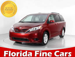 new toyota u0026 used car new and used toyota sienna for sale in miami fl u s news