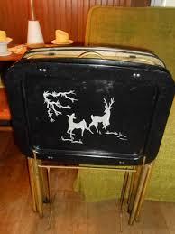 Folding Tray Table Set Best 25 Eclectic Tv Trays Ideas On Pinterest Quaint Living Room