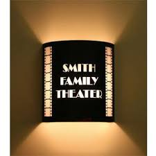 Home Theatre Wall Sconces Lighting 45 Best Home Theater Lighting Images On Pinterest Home Theater