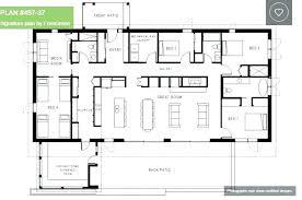 floor plans for 4 bedroom houses 4 bedroom one house plans simple 4 bedroom house plans 4