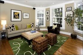 Family Room Color Brown Furniture Blue Accent Living Room - Family room colors