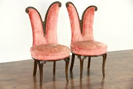 Antique Accent Chair Sold Pair Regency 1950 Vintage Accent Chairs All
