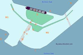 china three gorges dam project tgp sketch map for dam study tour
