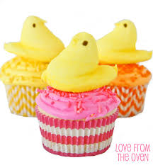 Easter Decorations With Peeps by Peeps Easter Cupcakes Love From The Oven