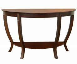 Half Moon Sofa Tables by Amazon Com Frenchi Home Furnishing Lewis Wood Sofa Table Kitchen