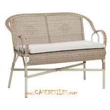canape en rotin meubles en rotin contemporain épuré