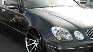 lexus gs300 slammed lexus es slammed coilovers on staggered rohana rc10 machined and