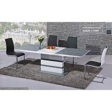 High Gloss Dining Table And Chairs Home Design Gloss Glass Extending Dining Table Chairs High