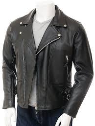 motorcycle waistcoat mens black biker leather jacket ashford men caine