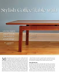 Free Woodworking Plans Small End Table by Coffee Tables Simple Img Coffee Table Plans Free Plan Mahogany