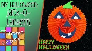 how to make a jack o lantern out of paper great for kids to make