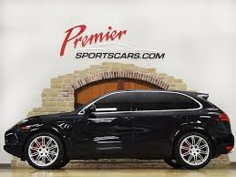 porsche cayenne 2014 black 2014 porsche cayenne turbo s for sale in springfield mo stock