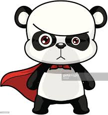 panda cartoon vector art getty images