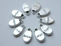 inspirational charms 10 inspirational words oval charms affirmation messages