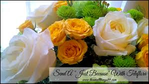 same day just because flowers sending flowers with teleflora just because the small things