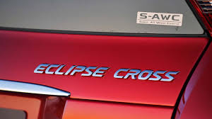mitsubishi badge 2018 mitsubishi eclipse cross first drive review