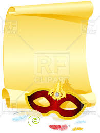 blank masquerade masks blank masquerade invitation with carnival mask and feather vector