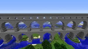 roman aqueduct minecraft youtube