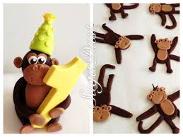 monkey cake topper cheeky monkey cake topper cake by sugadust cakesdecor