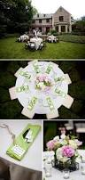pink green and white outdoor birthday celebration the