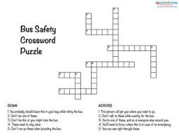 bus safety worksheets free worksheets library download and print