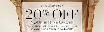 Pottery Barn Kids Promotion Code Pottery Barn Whew Your 20 Off Promo Code Lasts One More Day