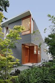 shed style houses warm modern home of concrete and wood details design milk