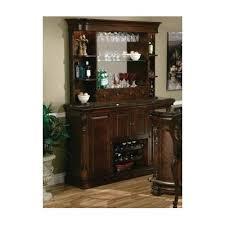 Bar Hutch Cabinet Howard Miller Niagara Hutch Rustic Wall And Back Bar U0026 Reviews