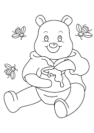 winnie pooh colouring pictures winnie pooh colouring