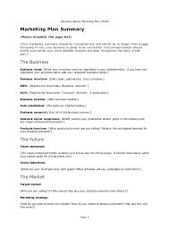 marketing plan template doc eliolera com