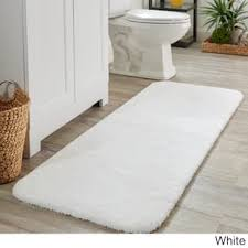 White Bathroom Rugs White Bath Rugs Bath Mats For Less Overstock