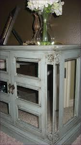 bedroom mirrored 3 drawer side table light oak nightstand diy