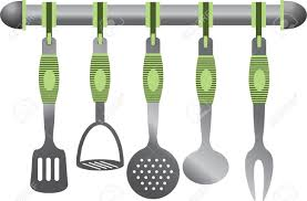 cutlery clipart kitchen utensil pencil and in color cutlery