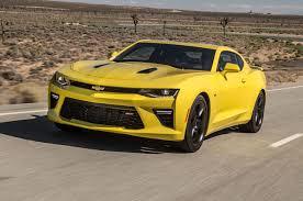 chevy camaro reviews 2016 chevrolet camaro ss test motor trend