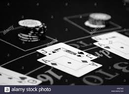 Black Jack Table by B U0026w Black And White Close Up Of A Blackjack Table Winning Playing