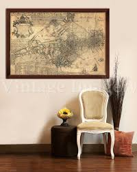 Restoration Hardware Delivery Phone Number by Old Boston Map 1769 Historic Boston Map Antique Boston Map